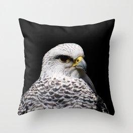 Gyrfalcon Throw Pillow