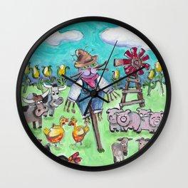 Alabama Cat Wall Clock