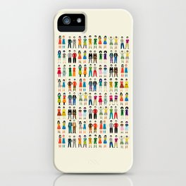 Identical Twins iPhone Case