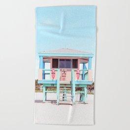 South Beach Beach Towel