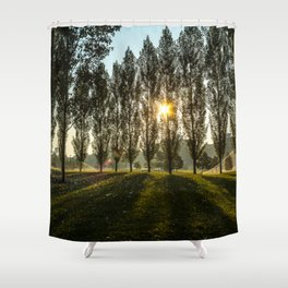 Penn State Sunrise Shower Curtain