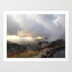 Outside Twin Peaks 5 Art Print