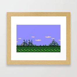 Magical Castle Framed Art Print
