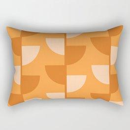 Orange Slices In The Summer - Fruit Series Rectangular Pillow