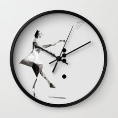 The tourist  Wall Clock