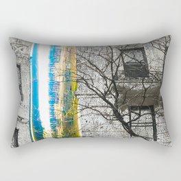 Inbetween Rectangular Pillow