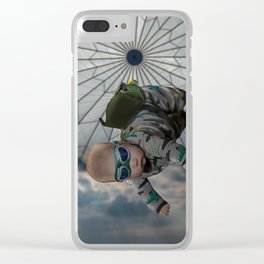 Operation Baby Drop Clear iPhone Case