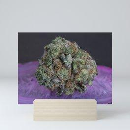 Grape Ape Medicinal Medical Marijuana Mini Art Print