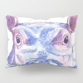 Happy Hippo Fiona Pillow Sham