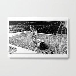 asc 684 - La route du large (The unbound) Metal Print
