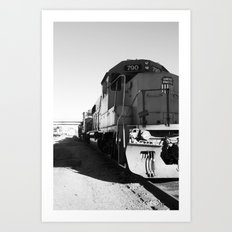 train engine Art Print
