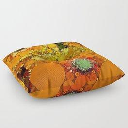 Sunset Poppies Floor Pillow