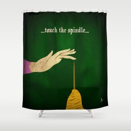 Calamity Collection, Series 1 - Spindle Shower Curtain