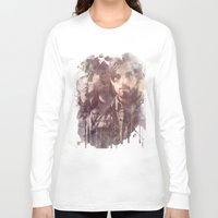 coldplay Long Sleeve T-shirts featuring kings of leon by Nechifor Ionut