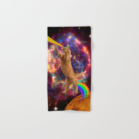 CAT SPACE  Hand & Bath Towel