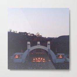 Hollywood Bowl- Summer, 2014 Metal Print