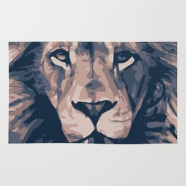 Face to Lion Rug