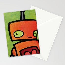 Robot - Sweet Shy Glances Stationery Cards