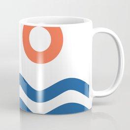 Nautical 02 Seascape Coffee Mug