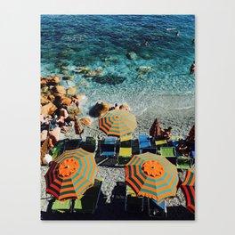 sumbrellas Canvas Print
