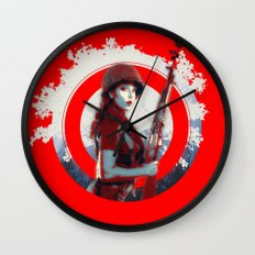 Gotcha Wall Clock