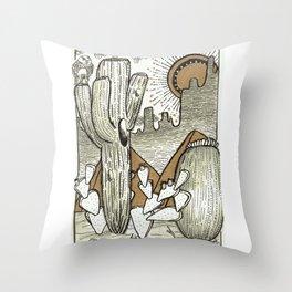 Take me to Tucson Throw Pillow