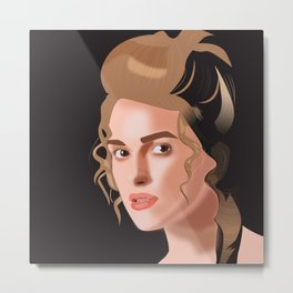 Elizabeth Swan - Pirates of the Caribbean  Metal Print