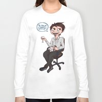 danisnotonfire Long Sleeve T-shirts featuring Danisnotonfire - The internet support group  by BrimRun