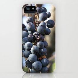 Wild Grapes iPhone Case