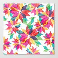 Geo Floral Canvas Print