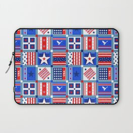 4th July Patchwork Laptop Sleeve