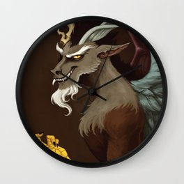 A Portait of Chaos Wall Clock
