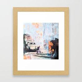 parked car Framed Art Print