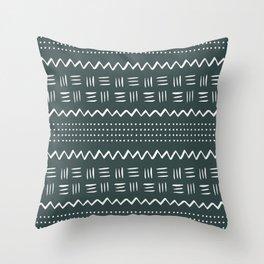 Buoyant Mud Cloth Throw Pillow