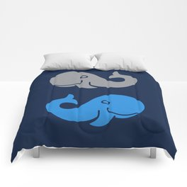 The Elephant & The Whale Comforters