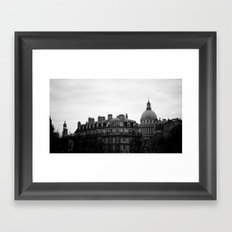PANTHEON. Framed Art Print