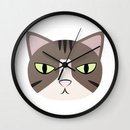 Grumpy Princess Hannah Wall Clock