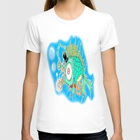 steam punk T-shirts featuring Whimsical Steam Punk Fish by J&C Creations