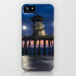 Tower Zero At Night iPhone Case