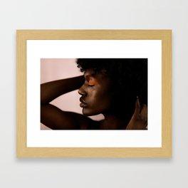 FIGURE // IX Framed Art Print