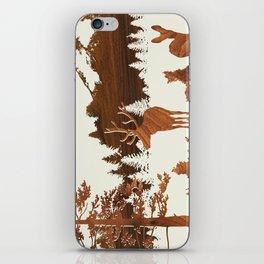 woodland iPhone Skin