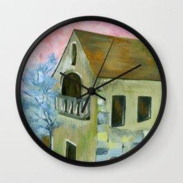 Home at Daylight Wall Clock