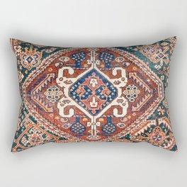 Qashqai Khorjin  Antique Fars Persian Bag Face Rectangular Pillow