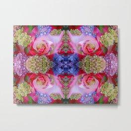 Flowerium geometry V Metal Print
