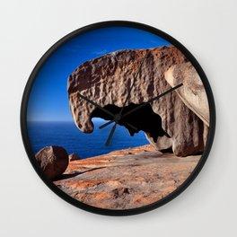 Remarkable Rocks, Kangaroo Island,South Australia Wall Clock