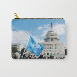 Deaf Grassroots Movement Carry-All Pouch
