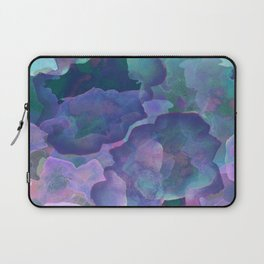 Blue and teal abstract watercolor Laptop Sleeve