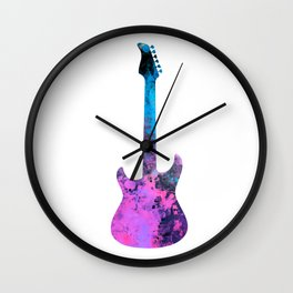 guitar art #guitar Wall Clock