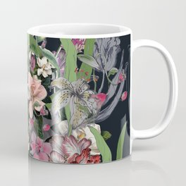 Painted Flowers Coffee Mug