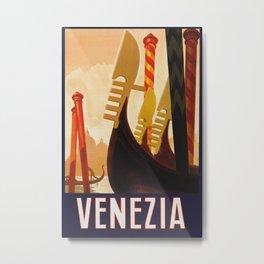 Venezia Italia ~ Venice Italy Travel Metal Print